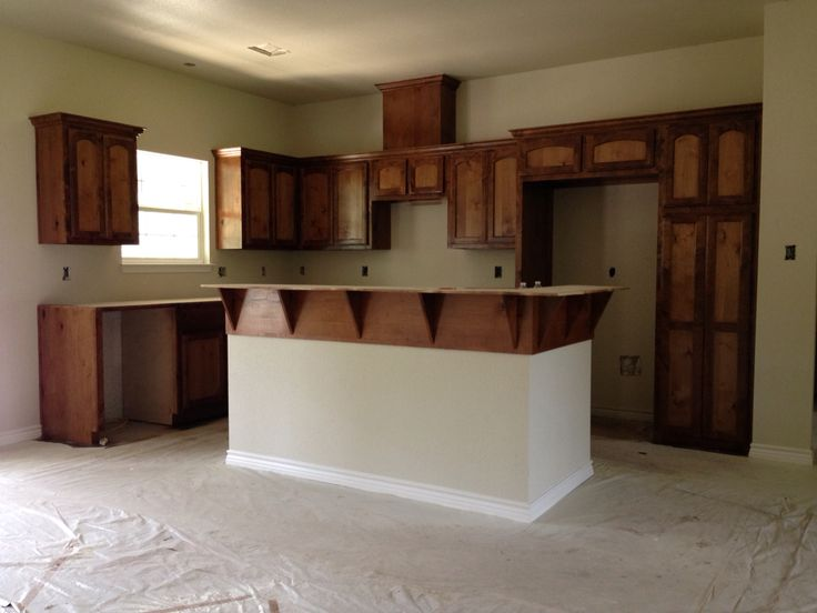 pantry kitchen cabinets small commercial cost our knotty alder cabinets... stained minwax early american ...