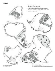 Plate Tectonics World map of volcanoes, earthquakes