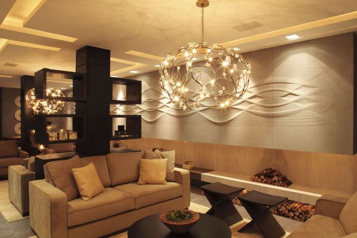 Artwave Design Collection of an hotel lobby wall panels