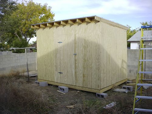 How to Build a Shed in 12 S