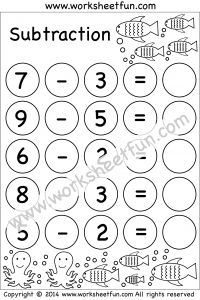 36 best images about Subtraction Worksheets on Pinterest
