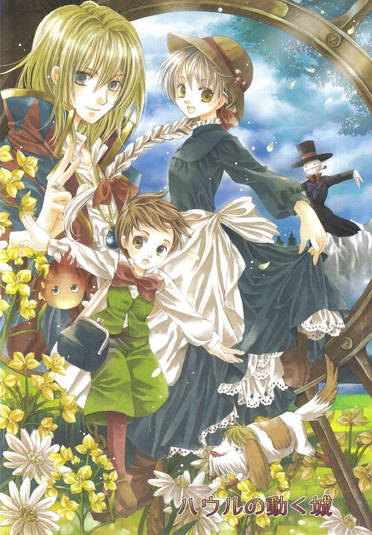 Kiss X Sis Iphone Wallpaper Howl S Moving Castle Hayao Miyazaki Studio Ghibli
