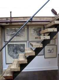 17 Best ideas about Rustic Stairs on Pinterest | Basement ...