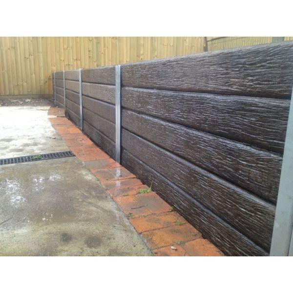 ridgi 150 x 50mm 1.5m woodgrain