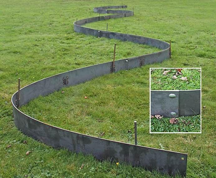 25 Best Ideas About Metal Lawn Edging On Pinterest Metal