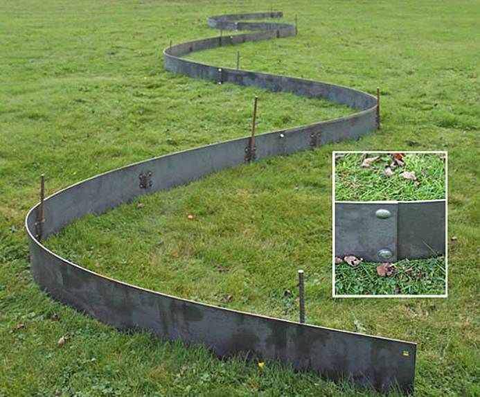 The 25 Best Ideas About Metal Lawn Edging On Pinterest Metal