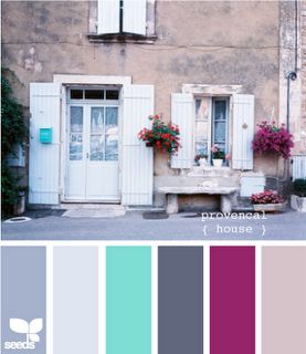 great color schemes — have some of these in my home.. might have to use some of the others :)