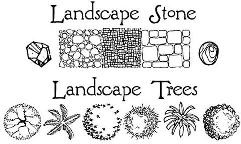 7 best images about Landscape Symbols on Pinterest