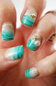 ideas seashell nails