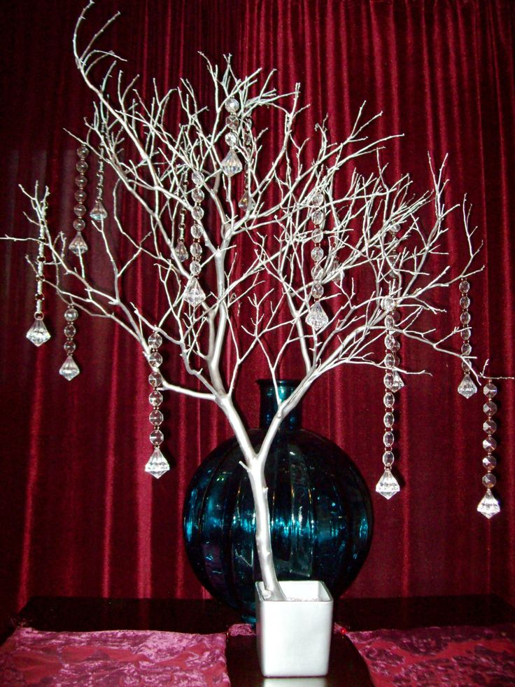 Crystal Tree Wishing Tree Manzanita Branch Manzanita Branches Manzanita Tree Wedding