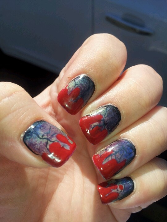 77 best images about Halloween/Fall nails on Pinterest