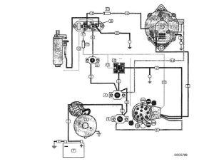 Volvo Penta Alternator Wiring Diagram | yate | Pinterest
