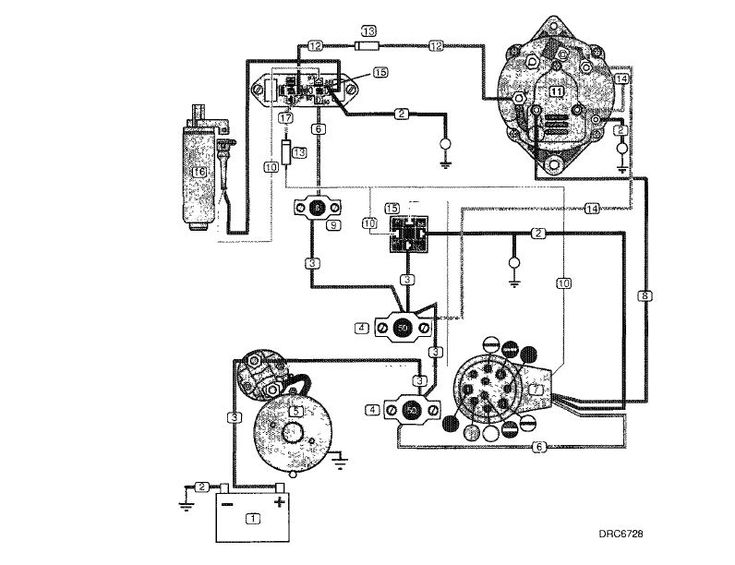 Yanmar Hitachi Alternator Wiring