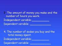 25+ best ideas about Dependent And Independent Variables ...