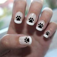 27 best images about Paw Print Nails on Pinterest | Nail ...