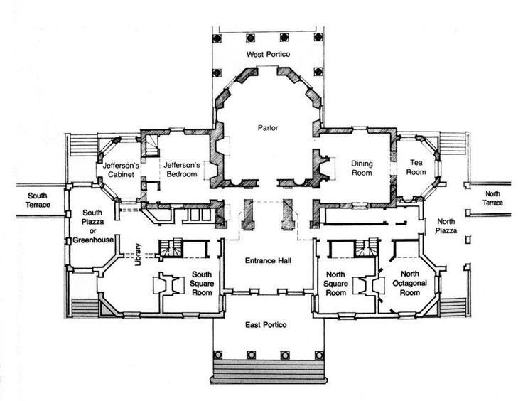 Monticello. Virginia, U.S. Thomas Jefferson (architect