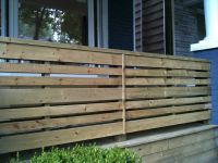 horizontal porch railing