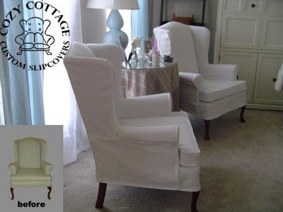small kitchen table with 2 chairs banquettes 21 best images about slip covered wing chair on pinterest ...