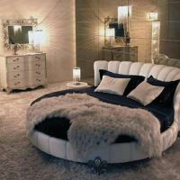 Best 20+ Round beds ideas on Pinterest | Luxury bed, Black ...