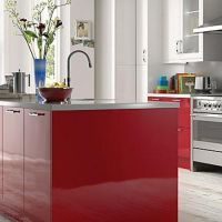 25 best Red Hot Kitchens! images on Pinterest