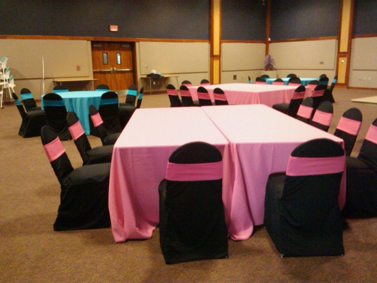 hot pink spandex chair covers target armless accent chairs 17 best images about our linens & on pinterest | vintage centerpieces, satin and ...