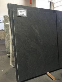 Virginia Black Granite in Satin or Honed finish. Looks ...