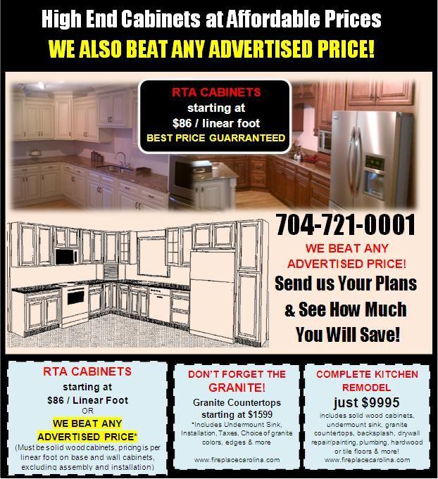 Our famous Cabinets flyer  httpwwwfireplacecarolina