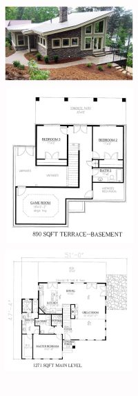 25+ best ideas about Modern house plans on Pinterest