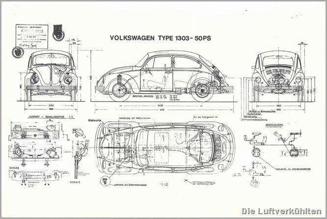 1974 vw beetle fuse box