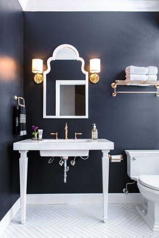 25 best ideas about Navy bathroom on Pinterest  Navy