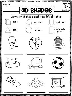 The 25+ best 3d shapes activities ideas on Pinterest