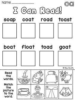 13 best images about vowel pairs: oa & ow on Pinterest