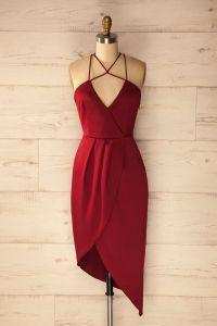 Red Black And White Cocktail Dresses - Formal Dresses