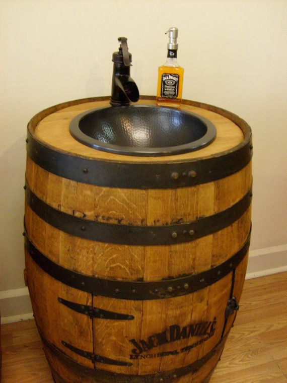 17 Best ideas about Barrel Sink on Pinterest  Wine barrel