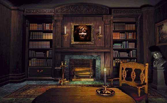 Denises Dream Haunted Library  Pinterest  Libraries and