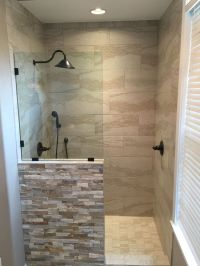 New shower replaced the old jacuzzi tub | My Bathroom ...