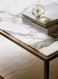 17 Best ideas about Marble Top Coffee Table on Pinterest
