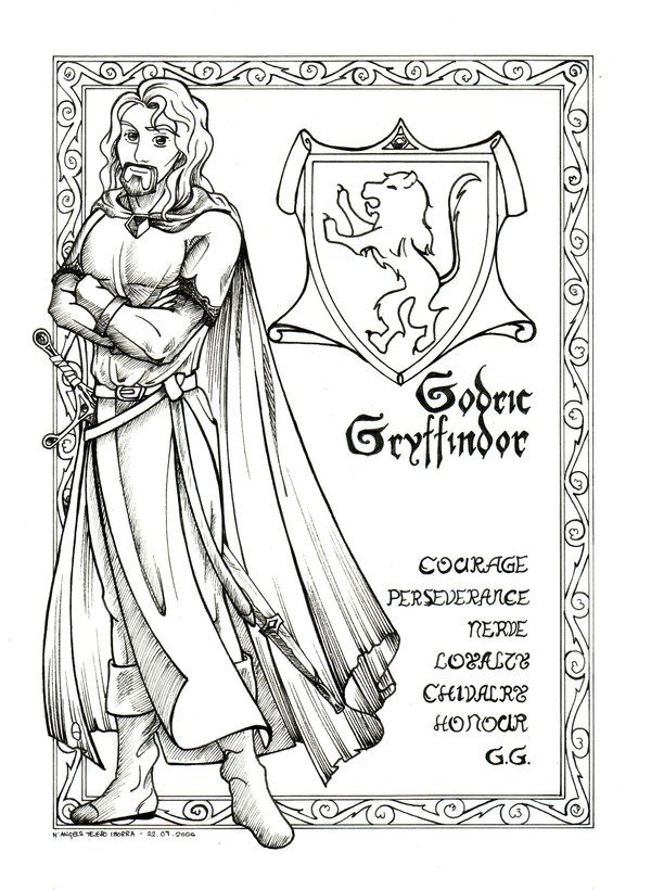 116 best images about Colouring Harry Potter Style on