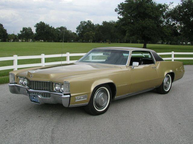 1969 Cadillac Eldorado  American Personal Luxury Cars
