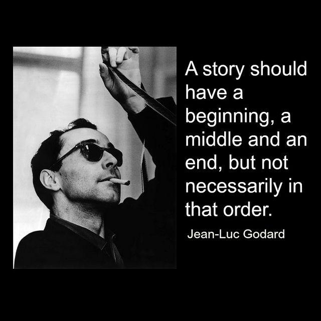 Film Director Quote - Jean-Luc Godard - Movie Director ...