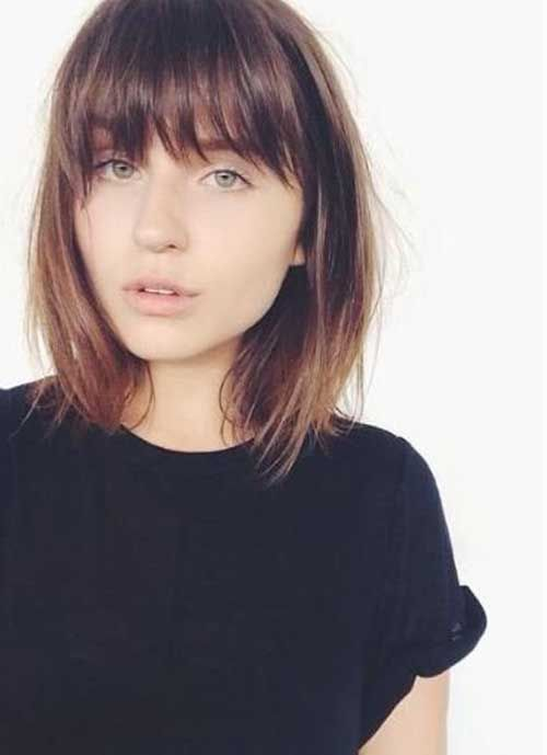 25 Best Ideas About Short Haircuts With Bangs On Pinterest