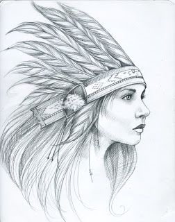 Amandalynn: Feather Ladies Indian feather head dress woman