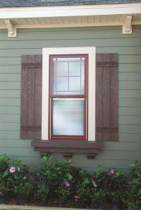 17 Best ideas about Outdoor Window Shutters on Pinterest ...