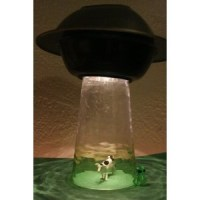 Obscurious Limited Edition UFO Table Lamp http://www