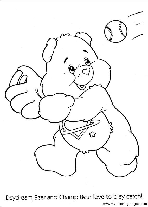 242 best images about Crafty (80's Care Bears) Coloring on