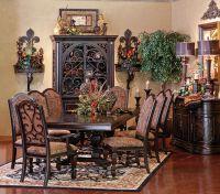 Love the wall decor & buffet/hutch | Home Decor ...