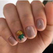 pineapple nails ideas