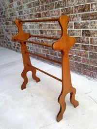25 best images about Wooden Quilt Racks on Pinterest ...