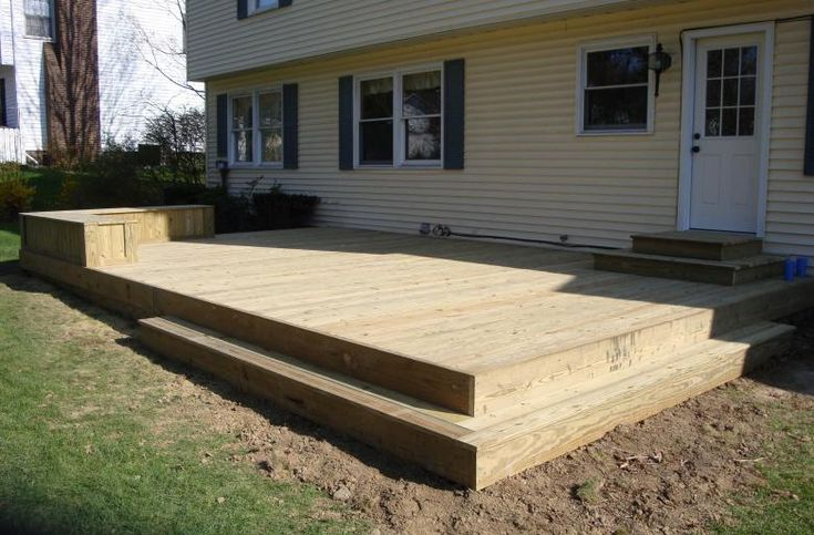 low level treated deck pic hudson ohio  For the Home