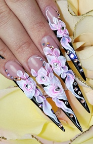 23 best Outrageous nails images on Pinterest